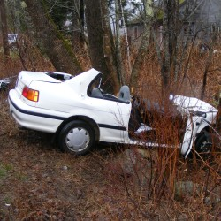 Two youths injured, one critically, in Route 11 crash