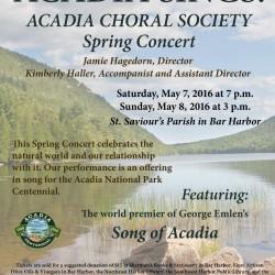 Acadia Sings!