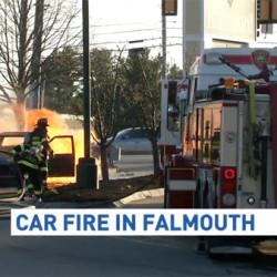 Firefighters contain Hancock blaze
