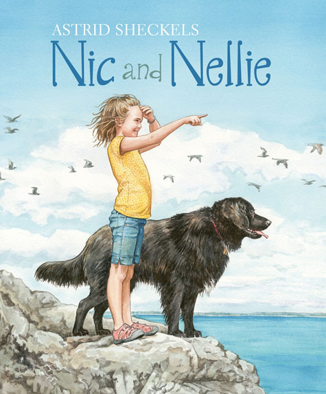 Artist Astrid Sheckels to make four Maine appearances for new picture book