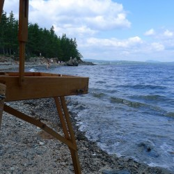 Watercolor Painting & Basket Making Classes Offered in Castine