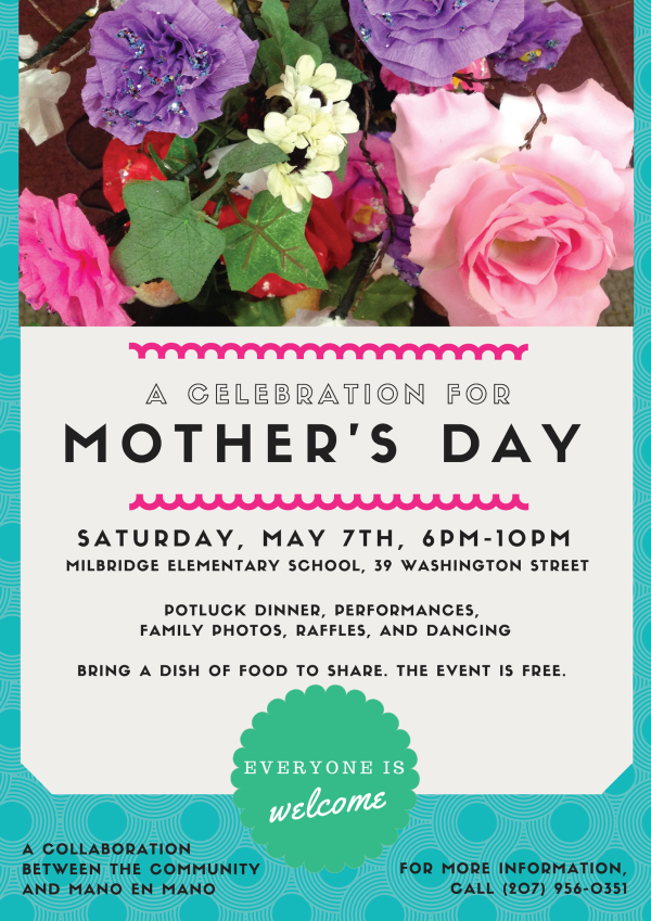 Mano en Mano Mother\'s Day Celebration — User Submitted — Bangor ...