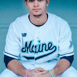 Freshman third baseman Danny Casals continues to lead the University of Maine baseball team with a .307 batting average this season. The Black Bears play at Albany this weekend.