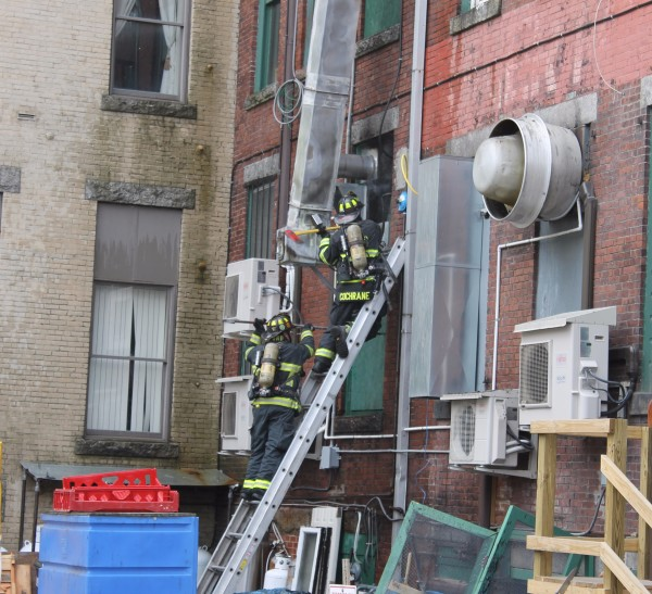 Chimney Fire Forces Evacuation Of Building In Downtown Bangor