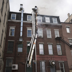 work to put out a fire on wednesday at the building housing blaze restaurant in downtown bangor. & How To Put Out A Fire In A Fireplace. How To Install A Gas Fireplace ...