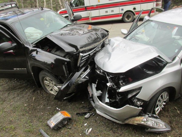 Eight People Injured In Head On Crash On Route 159 Penobscot