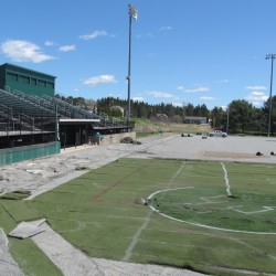 Construction has started at the Winkin Sports Complex on the Husson University campus.