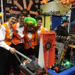 Teens compete at UMaine robotics event