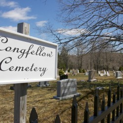 Longfellow Cemetery, one of two cemeteries cared for by the Machias Cemetery Association, can be seen recently in Machias.