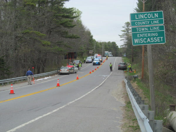 Police identify woman who died in Route 1 crash in Wiscasset