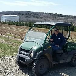 Apple pruning workshop at Helen and Scott Nearing estate