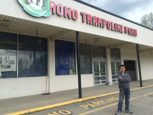 Lewiston man plans to open trampoline park in former Orono