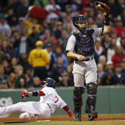 Pedroia powers Red Sox past Rockies; Middlebrooks sent down to Pawtucket