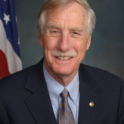 U.S. Senator Angus King will deliver the Commencement address to the Class of 2016 at Husson University's 117th Annual Commencement Exercises on May 8, 2016.