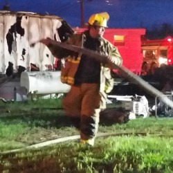 Fire destroys mobile home in Corinth