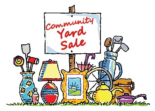 Community Yard Sale Levant Living Bangor Daily News