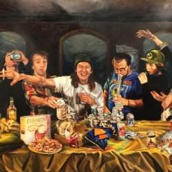 The Last Huraa, 2016, Oil on Canvas