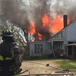 Blaze that destroyed Nobleboro home may have started with extension cord in child's bedroom