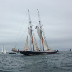 Coast Guard aids sailing vessel with two aboard that ran aground near Portland
