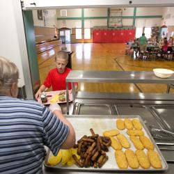 Schools look to cut food costs