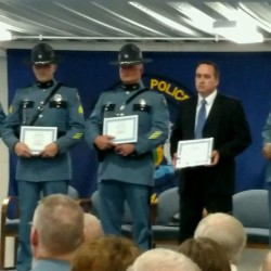 Bangor trooper awarded state police top honor at awards ceremony