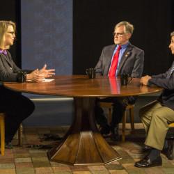 From left, Jennifer Rooks, Mark Holbrook and Ande Smith.