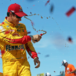 NASCAR's Joey Logano finds himself at the center of controversy
