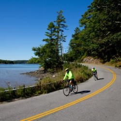 Bicycle group's 'rolling exploration of Maine' wraps up weeklong tour