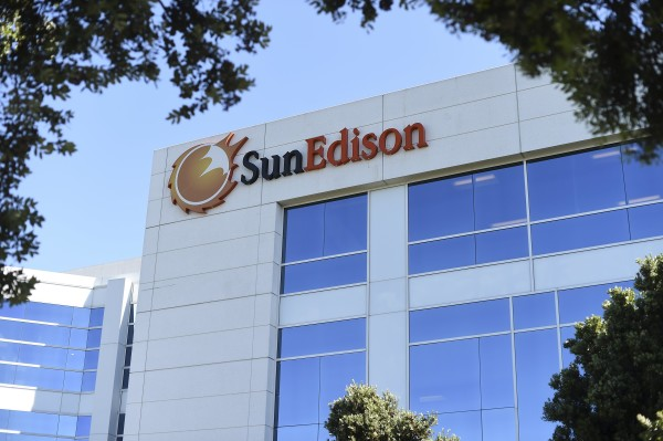 The headquarters of SunEdison is shown in Belmont, California, in this April 2016 file photo.