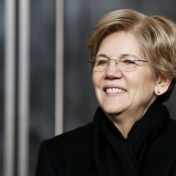 What do men have against Elizabeth Warren?
