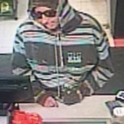 Augusta police are seeking this man in connection with a robbery of a local convenience store