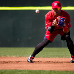 Garin Cecchini making impact in first stint with Sea Dogs