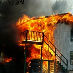 Discarded cigarette caused fire that destroyed Thomaston duplex