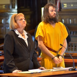 Leroy Herbert Smith III, 24, in Kennebec County Superior Court in a 2014 file photo