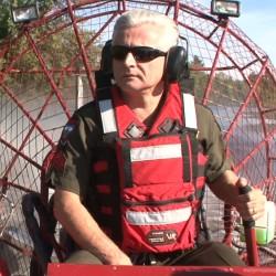 Maine Game Warden Sgt. Tim Spahr