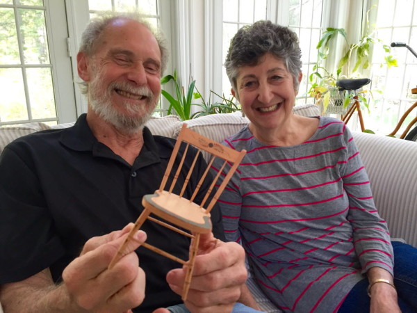This Couple Bond Over Tiny Furniture But Relish Time Apart