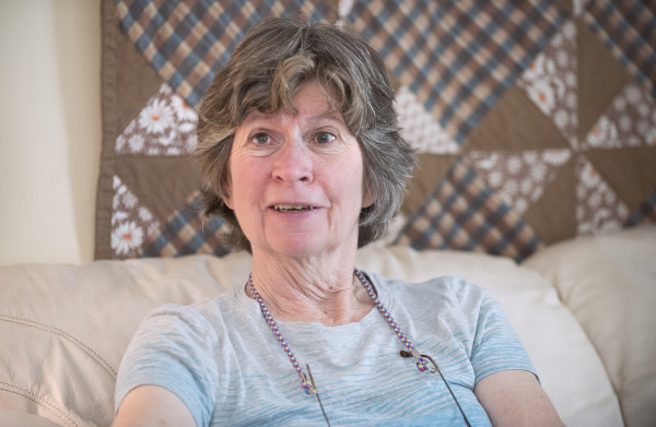Islesboro resident Sharon Daley is a registered nurse who has worked with the Seacoast Mission medical team for over 15 years. She has been involved with Boardman Cottage since the facility started.