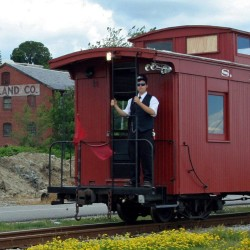 """The Maine Narrow Gauge Railroad is hosting the first """"Stuff A Train Coach"""" for Homeless Veterans this Sunday, July 3rd, to raise supplies for Portland's displaced veterans and homeless."""
