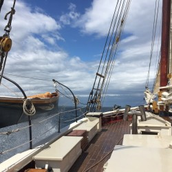 Windjammer cruises may alter a life's path