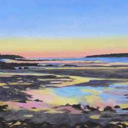Barbara Ernst Prey, Tide Pools, 15 x 21 inches
