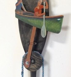 """Piddle Paddle Hand Crank"" by Artist Annie Bailey"