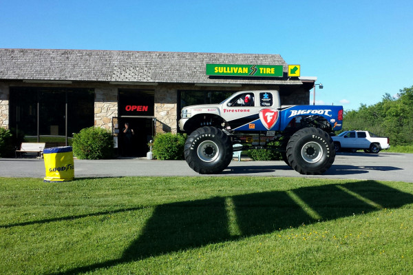 Bigfoot The Monster Truck At Sullivan Tire User Submitted Bangor