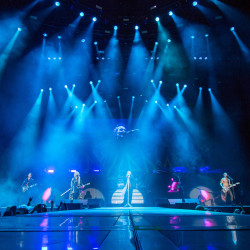 Def Leppard performs at Darling's Waterfront Pavilion in Bangor on Friday evening.