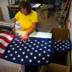 US flags should be made in US, some lawmakers say