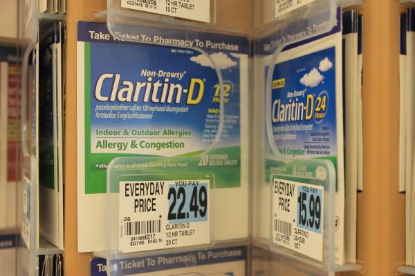 Pharmacies in northern Maine halt sales of certain decongestants to