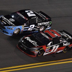Drivers differ on how to race at Talladega