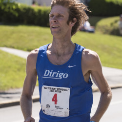 Adam Goode of Bangor won the 36th annual Walter Hunt Memorial Fourth of July 3K road race from Brewer to Bangor with the time of 9 minutes, 16 seconds on Monday.