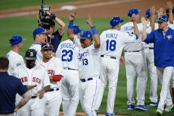 9ca9901910f AL rides early homers to 4-2 win in All-Star Game — Baseball ...
