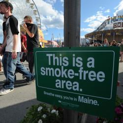 Bangor passes ban on smoking in city parks geared toward kids