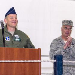 Former 101st Wing commander Gen. Jay Benton recalled as true military leader